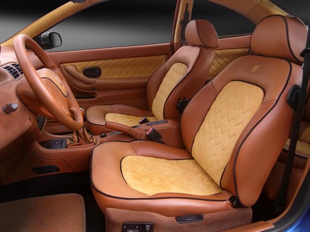 Изменение дизайна салона автомобиля